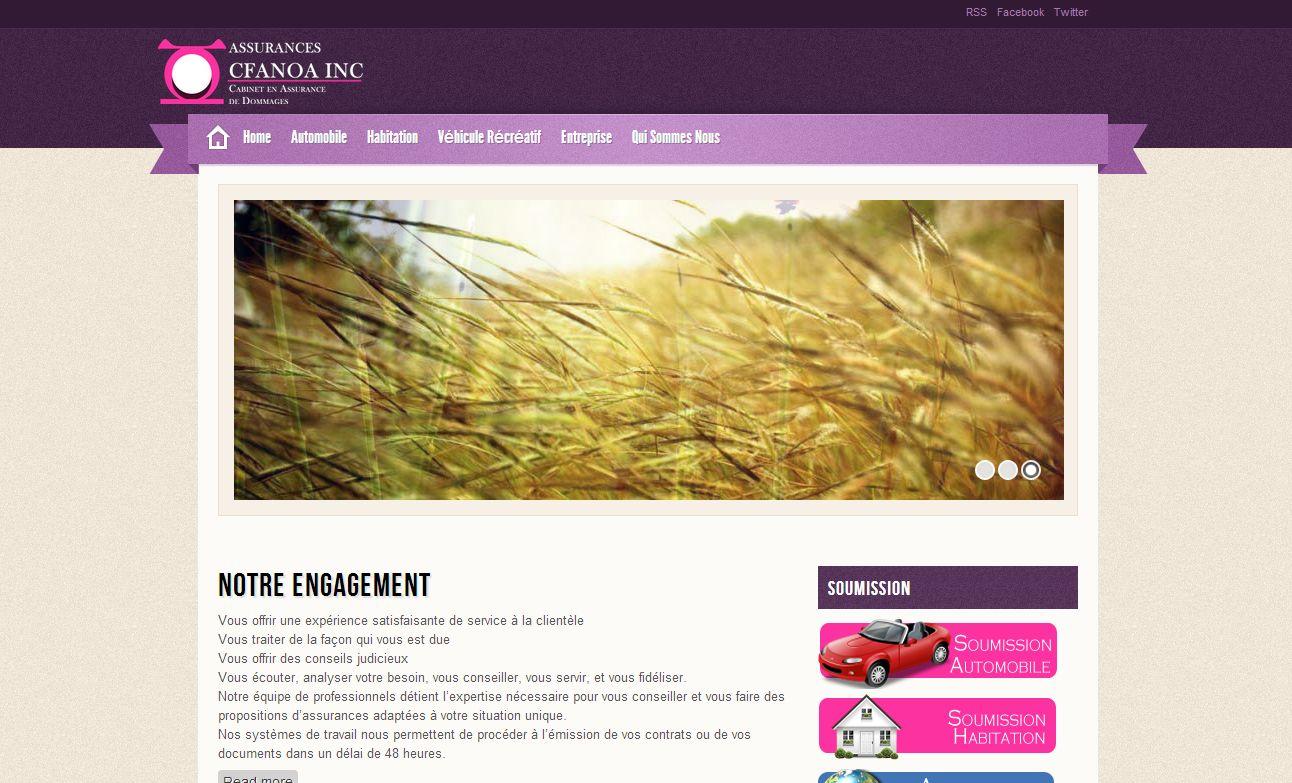 Assurances Cfanoa Inc