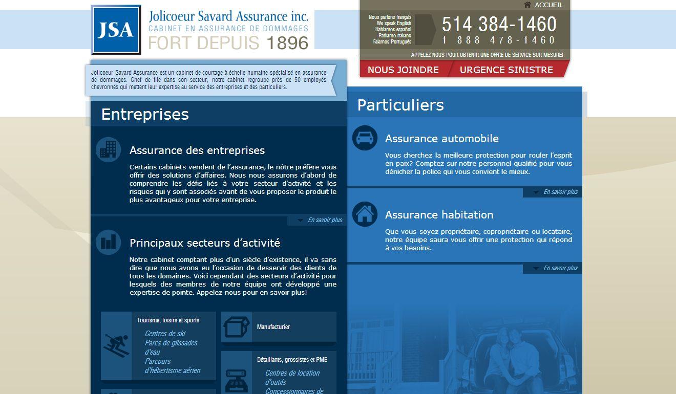 Jolicoeur Savard Assurance Inc Montréal