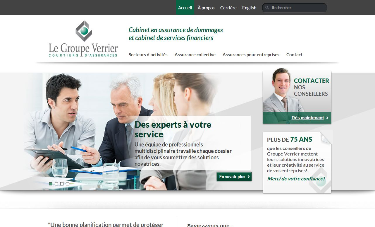 Groupe d'Assurances Verrier Inc.